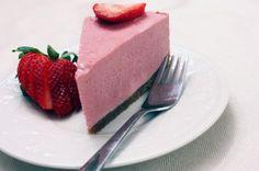 Strawberry Cheesecake (Gluten and dairy free)