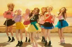SNSD unveiled their MV teaser for for 'Holiday Night'