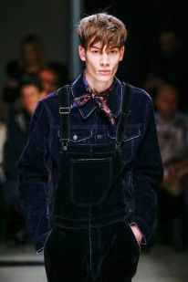 For MSGM, it was all about redefining classic pieces, such as utilitarian shirts and union suits.  See the best looks from the Milan Fashion Week Fall-Winter 2015-16 menswear collections:  http://attireclub.org/2015/01/22/milan-fashion-week-fall-winter-2015-16-menswear-collections-review/  #Milan #MFW #menswear #mensfashion