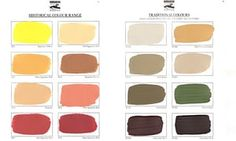 Swatch this space: colours from Baty's palette. After years as a special forces soldier, Patrick Baty became a leading expert on historical paint Special Forces, Color Inspiration, Hue, Swatch, How To Become, Eyeshadow, Colours, Painting, Restoration