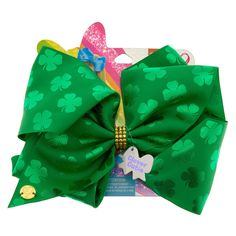 Shop the hottest styles and trends from cool jewellery & hair accessories to gifts & school supplies. Jojo Siwa Bows, Jojo Bows, Jojo Siwa Birthday, Girl Birthday, Birthday List, 10th Birthday, Birthday Ideas, Jojo Siwa's Number, St Patricks Day Hair Bows