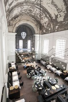 the jane restaurant antwerp/piet boon design