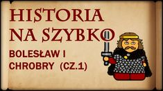 Historia Na Szybko - Bolesław I Chrobry cz.1 (Historia Polski #4) (992-1... Royalty Free Music, Education, Watch, Youtube, Homeschooling, Royals, Historia, Diary Book, Cuba