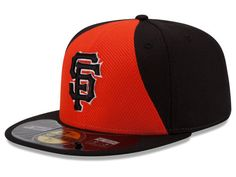 43321922bd9 Men s San Francisco Giants New Era Orange Black Authentic Collection Diamond  Era On-Field Fitted Hat with 2014 All-Star Game Patch