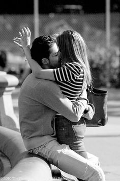 to feel safe in his arms..