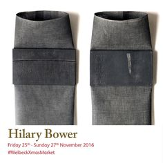 Meet Hilary Bower in her studio during Hilary's reflect her personal journey and travels, both physical and emotional; her associations with people and interest in and skills. Christmas Art, Christmas Shopping, Art Market, Studios, Journey, Textiles, Meet, People, Food