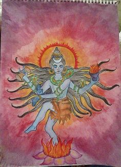 Waldorf ~ 5th grade ~ Ancient India ~ Shiva's Dance ~ main lesson book