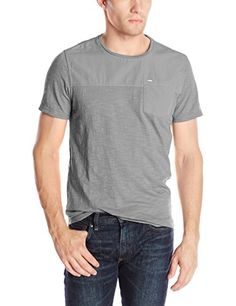 Calvin Klein Jeans Men's Short Sleeve Crew Neck Mix Media Top  http://www.evthm.com/index.php/product/calvin-klein-jeans-mens-short-sleeve-crew-neck-mix-media-top/