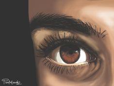 #illustration #illustrationart #digitalart #wacomtablet #sketching Eye Illustration, Sketching, Digital Art, Eyes, Illustrations, Fotografia, Art, Sketch, Cat Eyes