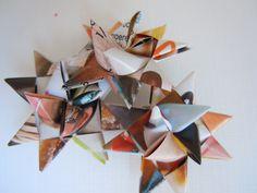 stars made of magazines