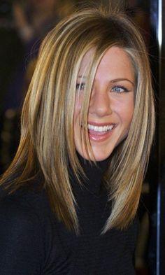 Jennifer Aniston with Rachel haircut