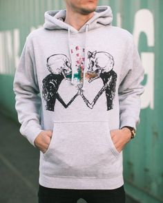 Vomit Love hoodie by Alex Pardee available in-store and online. #ShopUP #UpperPlayground #AlexPardee