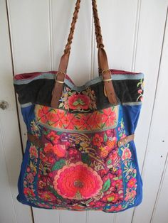 vintage embroidered bag by shopgypsyriver on Etsy, $350.00