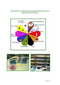 Orientaciones para organizar y tratar los documentos de la biblioteca escolar.
