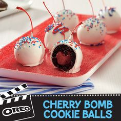 Press play on summer snacks with these oh-so-good sweet recipes from NABISCO Köstliche Desserts, Delicious Desserts, Dessert Recipes, Yummy Food, Salad Recipes, Candy Recipes, Baking Recipes, Sweet Recipes, Cupcakes