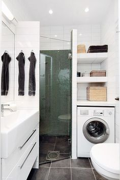 31 best Buanderie images on Pinterest | Laundry room, Bathroom and ...