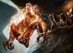 New Art in Duel Decks: Speed vs. Cunning Goblin Bombardment