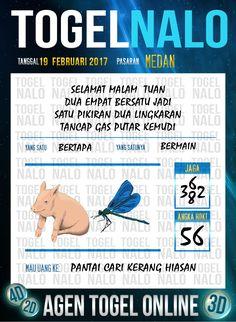 Tafsir Akurat 4D Togel Wap Online Live Draw 4D TogelNalo Medan 19 Febuari 2017