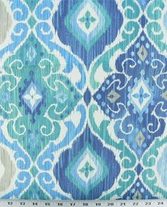 Fresca Cobalt - Indoor / Outdoor | Online Discount Drapery Fabrics and Upholstery Fabric Superstore!