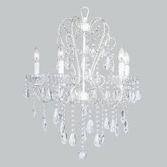 Whimsical Chandelier White - Lighting - Room Décor - Children | Elementarie