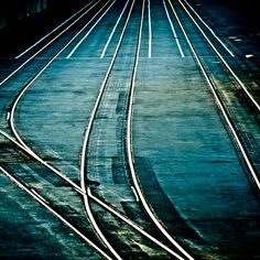 Abstract Railway Background by ►CubaGallery, via Flickr