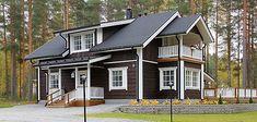 Saaren hirsitalot Home Fashion, Garage Doors, Shed, Outdoor Structures, Cabin, House Styles, Outdoor Decor, Google, Home Decor