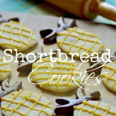 Dipped Shortbread Cookies - Surroundings by Debi