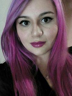 Mine.. P!nk&Purple #imarainbow, #ioncolorbrilliance, #magenta, #fuchsia, #manicpanic, #ultraviolet, #pinkhair, #purplehair