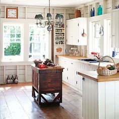 Cape Cod Cottage Kitchen - Cape Cod Cottage - Coastal Living