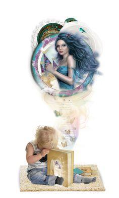 """Sing Sweet Nightingale, Ilene Woods"" by blendasantos ❤ liked on Polyvore featuring art, doll, dolls and dollset"
