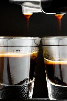 Espresso Coffee, Black Coffee, Double Espresso, Espresso Shot, I Love Coffee, Coffee Break, Morning Coffee, Coffee Spoon, Coffee Cups