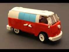 How To Build A Volkswagen T1 Camper Van With Lego - MOC Tutorial / Instruction With Partlist - YouTube