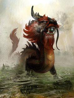 Concept Art Dragon