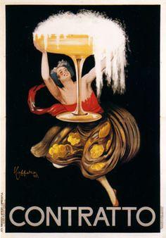 Galerie Montmartre - Contratto - Small (1922) by Leonetto Cappiello