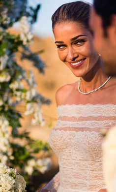 See more photos from Ana Beatriz Barros and Karim El Chiaty's wedding.