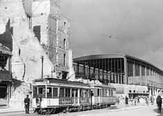 1945 Joachimstalerstrasse und Bahnhof Zoo