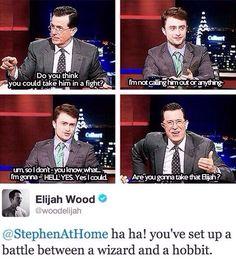 Stephen Colbert starts some shit.
