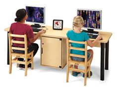 Jonti Craft® Computer Lab Tables   Great For K 12, Libraries And