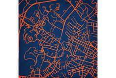 City Prints - Typography - University of Virginia, VA