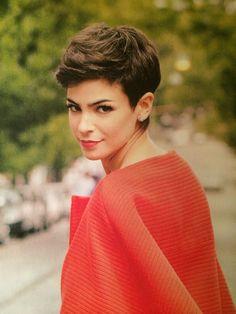 Short hair | agustina cherri, argentine actress
