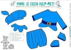 hulppietjes knutselen; ook patroon meisjespiet. Downloaden van www.studiostift.nl