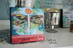 "6"" Wall Art-Heal Your Heart | Garden Gallery Iron Works"