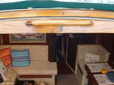 Ohh blues and oranges... Very nice! http://www.sailboat-interiors.com/ http://www.sailboat-interiors.com/store