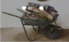 White Cow, Wheelbarrow, Garden Tools, Yard Tools, Outdoor Power Equipment