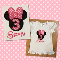 Minnie Mouse BDay Shirt