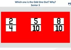 Fifth/Sixth Class The Odd Ones Out, Learning Support, Whats Wrong, Maths, Remote, Pilot
