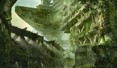 http://conceptartworld.com/wp-content/uploads/2013/10/Elapse_Levi_Hopkins_Ruins_Elevated_Final.jpg