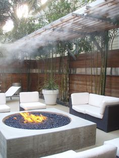 Love the fire pit