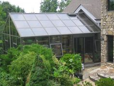 Greenhouse Attached To House Plans | ... -to varieties are the even span option. One gable end is attached to