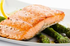 The Cooking Addiction: Salmon Aspargus